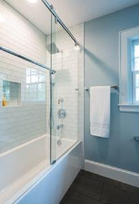 Distinctive Design Build Myers Park Guest Bath After Remodel