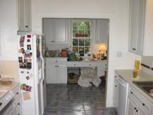 Kitchen remodel in Eastover neighborhood in Charlotte, NC.