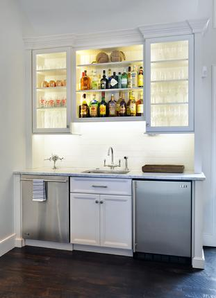 Distinctive Wet Bar