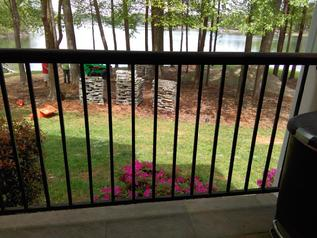 Lake Norman Deck Before Remodel