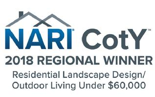 2018 NARI CotY Regional Winner Outdoor Living Under 60 Logo