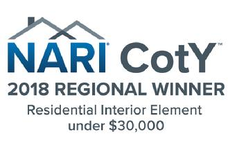 2018 NARI CotY Regional Winner Interior Element Under 30 Logo