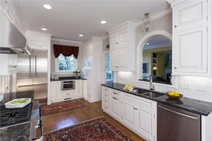 After Kitchen Remodel in historic Charlotte, NC neighborhood.