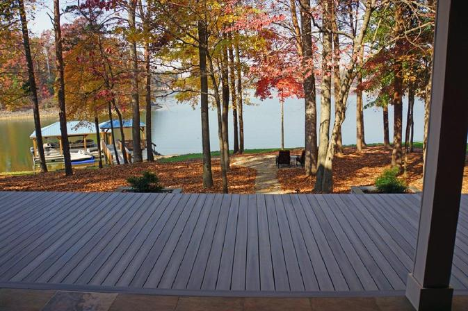 Distinctive Design Build Deck Lake Norman
